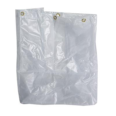 205L Folding Waste Cart Translucent Vinyl Bag Only