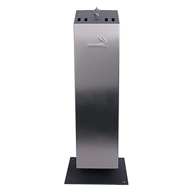 Free Standing Stainless Steel Ashtray
