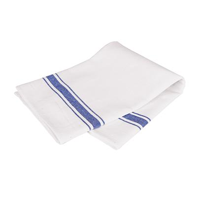 Glass Cloth Blue & White Wide Stripe